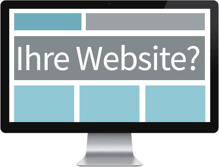 Professionelles Webdesign für Sie?